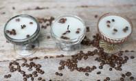 Lumanari parfumate cu vanilie si cafea Afara vremea-i rece dar aroma acestor lumanari parfumate creaza un