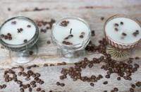 Lumanari parfumate cu vanilie si cafea