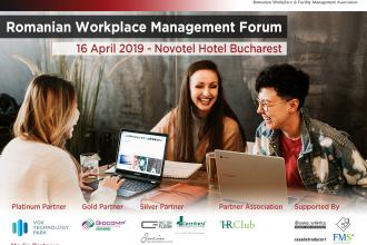 Romanian Workplace Management Forum are loc pe 16 aprilie la București