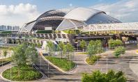 Stadionul SportsHub din Singapore cel mai mare dom construit Impresionanta structura care gazduieste stadionul SportsHub din