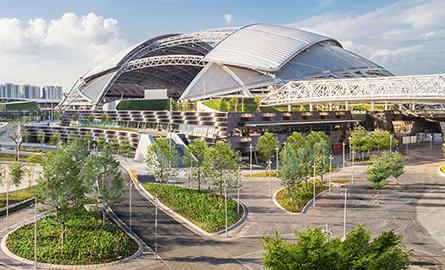 Stadionul SportsHub din Singapore cel mai mare dom construit
