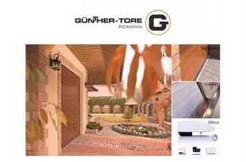 Usa de garaj Gunther Tore cu panou DECOR LEMN o poti achizitiona acum la PRET de