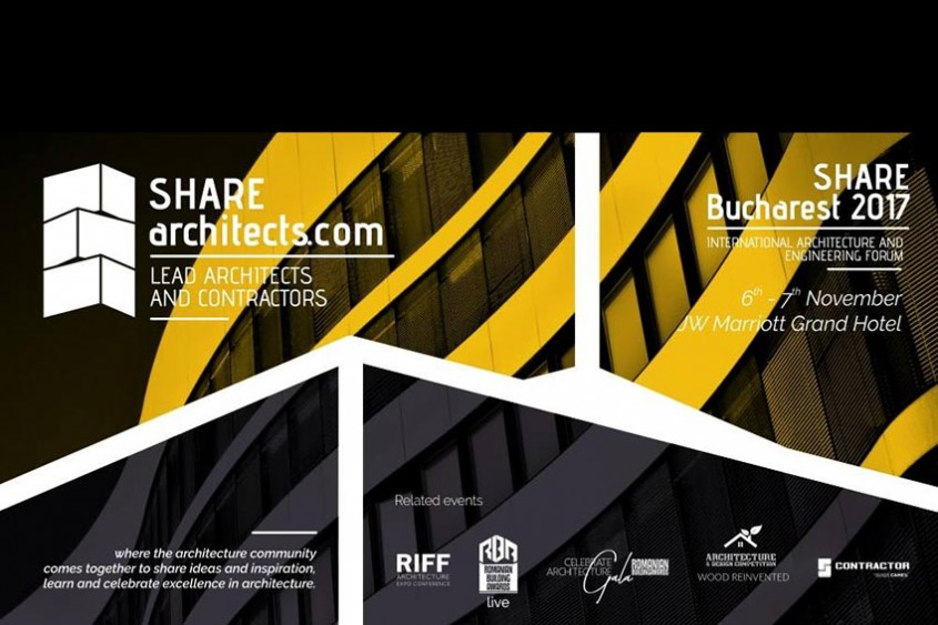 Pe 6 noiembrie ne întâlnim la SHARE Forum 2017 Bucharest la JW Marriott Grand Hotel!