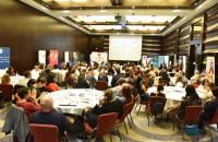 Operational HR: Despre provocările și tendințele actuale ale departamentelor de resurse umane În prima zi a evenimentului ne-am bucurat de prezența a 150 de participanți, care au avut ocazia de a cunoaște profesioniști din industria HR. Conferința