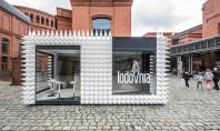 Un magazin de înghețată acoperit cu aproape 1 000 de conuri în formă de cornete Pentru