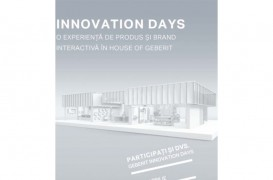 Geberit Innovation Days – eveniment online