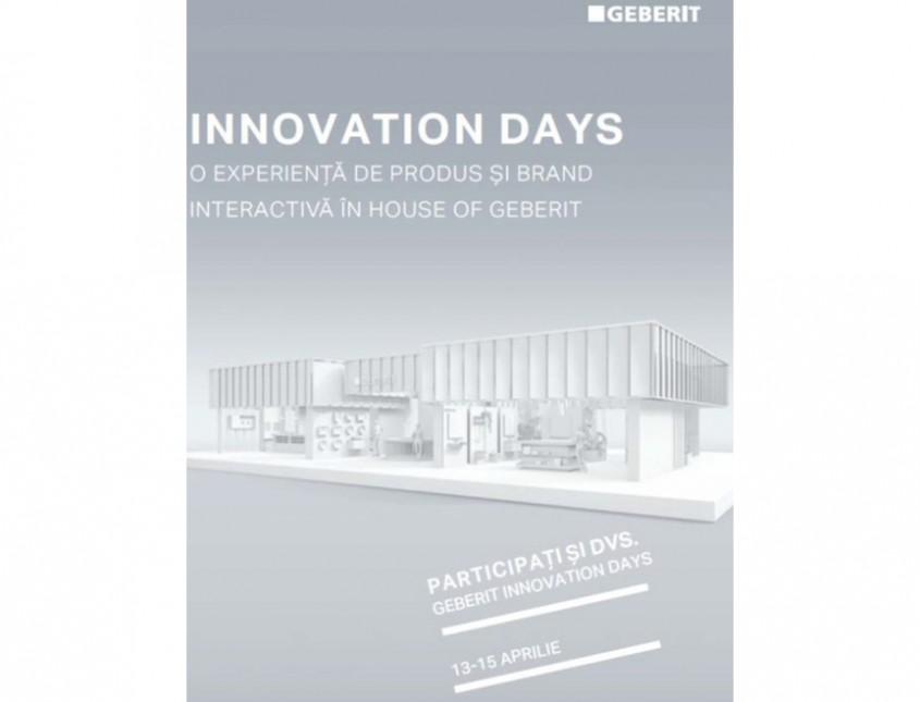 Geberit Innovation Days – eveniment online