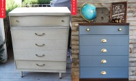 Idei de improspatare a designului pieselor de mobilier mai vechi Daca aveti un dulap de pe