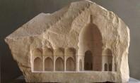 Interioare in miniatura sculptate in marmura Un artist britanic reuseste sa creeze lucrari de arta cu