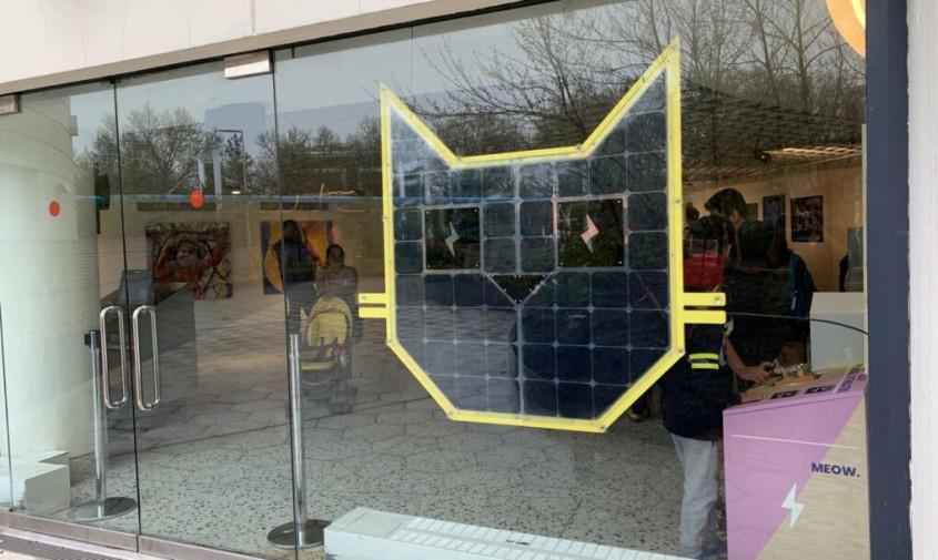 Solar Cat, cel mai simpatic panou solar
