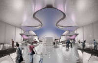 Echipa Zaha Hadid Architects va realiza designul la Galeria de Matematica, Londra