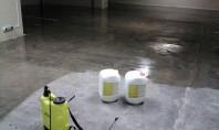 Sigiliu lichid pentru beton - Peneseal Pro Daca este aplicat pe o suprafata de beton curatat