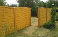 Gard decorativ din beton