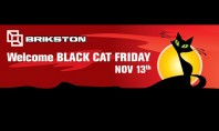 Welcome BLACK CAT FRIDAY La BRIKSTON luna aceasta pisica neagra iti scoate in cale reduceri de