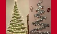 În 2017 se poartă brazii din beteală! Află de ce să te bucuri de un Crăciun