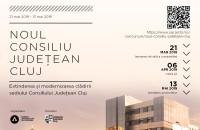 Concurs pentru extinderea și modernizarea sediului Consiliului Județean Cluj