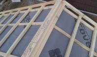 Marirea debitului de aer ventilat in zona coamei invelitorii acoperisului Tehnologia de montare a tiglei metalice