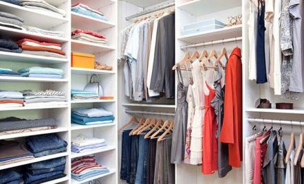 Idei de organizare a dulapurilor, pentru un spațiu funcțional
