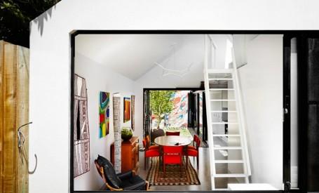 Reamenajarea unei case pentru a beneficia de mai multa lumina naturala si de intimitate