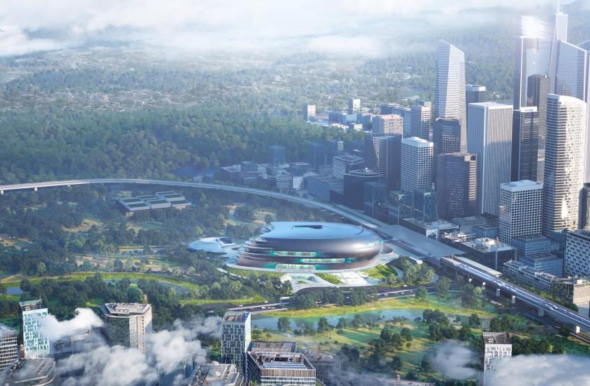 Muzeul de Ştiinţă şi Tehnologie din Shenzhen, de Zaha Hadid Architects