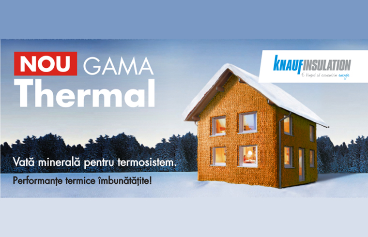 Gama Thermal de la Knauf Insulation
