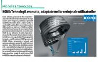 KONE: Tehnologii avansate, adaptate noilor cerinte ale utilizatorilor
