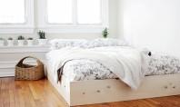 O ramă de pat simplu de făcut care îți înfrumusețează dormitorul Iti poti face o rama