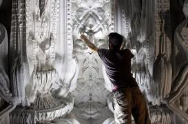 Interior baroc integral realizat cu ajutorul imprimantei 3D