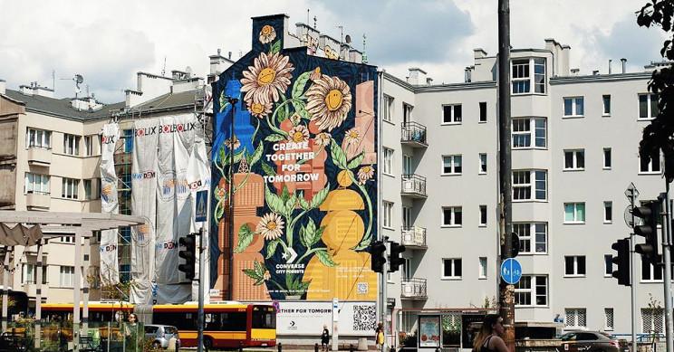 O pictură murală cât 780 de arbori