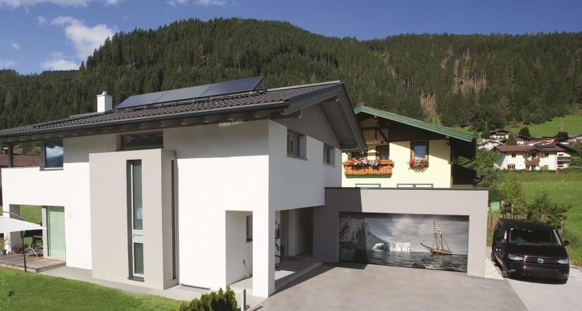 Gunther Tore Prestige: libertate deplină în alegerea designului ușii de garaj