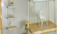 Rafturi decorative din carti! Cum atribuim cartilor noi intrebuintari? Transformandu-le in obiecte-fantezie pentru decorarea incaperilor!