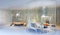 Vitraje in S asigura legatura dintre spatiul interior si cel exterior Proiectul Design House este o