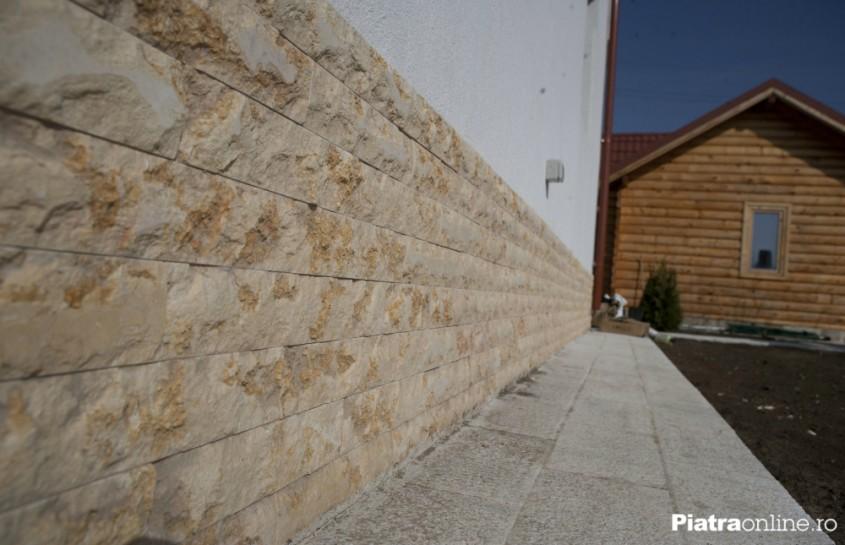 Piatra naturala pentru soclul casei