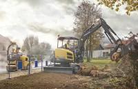Excavatoare compacte Volvo - utilaje mici, productivitate mare