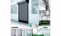 Ușa industrială DYNACO D-313 Cleanroom cu deschidere în ~1 secundă Caracteristici si beneficii Certificare Clasa 6