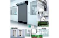 Ușa industrială DYNACO D-313 Cleanroom cu deschidere în ~1 secundă
