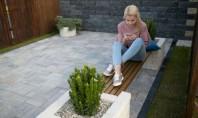 Chic și modern mic mobilier de gradină din pavele In acest articol va propunem o idee