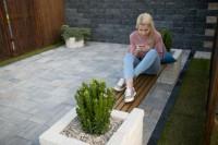 Chic și modern: mic mobilier de gradină din pavele