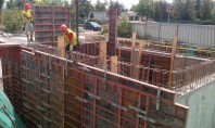 Construcția unui bazin de incendiu pentru un supermarket din Câmpina Pentru noua constructie din municipiul Campina
