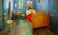 Cum ar fi sa locuiesti intr-o pictura? Povestea camerei din imagine porneste de la expozitia inaugurata