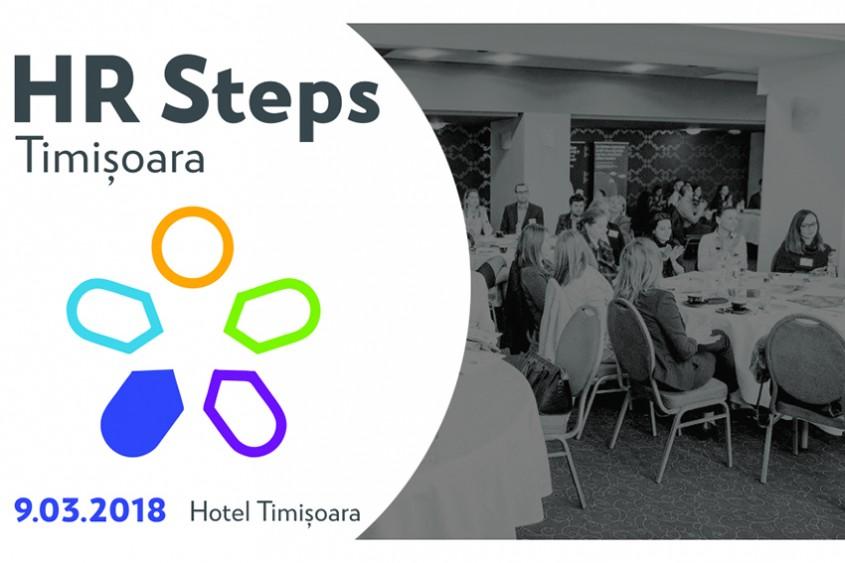 HR Steps Timișoara Parcursul departamentului de HR în dezvoltarea regională, între provocări și oportunități