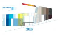 Noua colectie Abet Laminati MEG - panouri HPL cu fete decor pentru fatade ventilate si placari