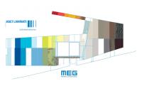 Noua colectie Abet Laminati MEG - panouri HPL cu fete decor pentru fatade ventilate si placari exterioare