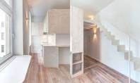 Optimizarea spatiilor prin reamenajarea interioara a unui micro-apartament Daca veti incerca sa va organizati toate lucrurile