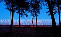 Design al unei crame pus in valoare cu zeci de lumini LED