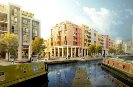 Plan de revitalizare a zonei Fountainbridge din Edinburgh