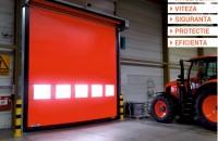 De ce ușa rapidă DYNACO M2 POWER este cel mai apreciat produs din gama Günther Tore? Luand in calcul atat eliminarea timpilor de stationare a utilajelor in fata usii, cat si reducerea pierderilor uriase de caldura, amortizarea unui astfel de