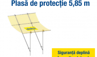 Siguranța pe șantier de la montanți de balustradă și platforme pliabile la plase de protecție Doka