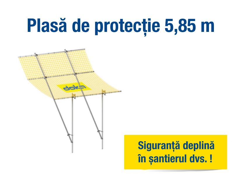 Siguranța pe șantier: de la montanți de balustradă și platforme pliabile, la plase de protecție