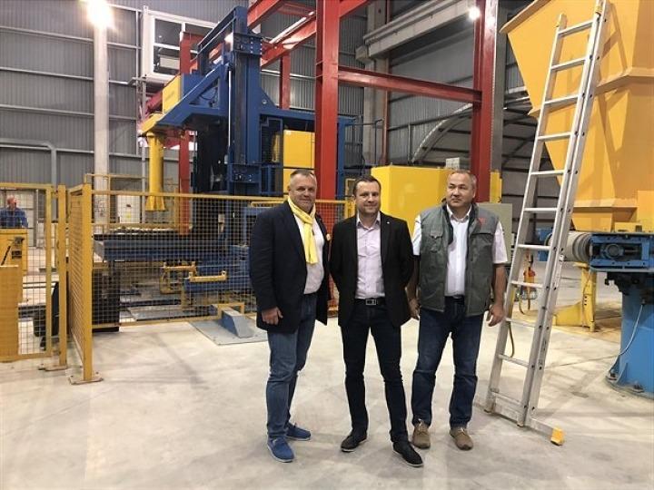 SW Umwelttechnik a inaugurat a treia fabricӑ în România